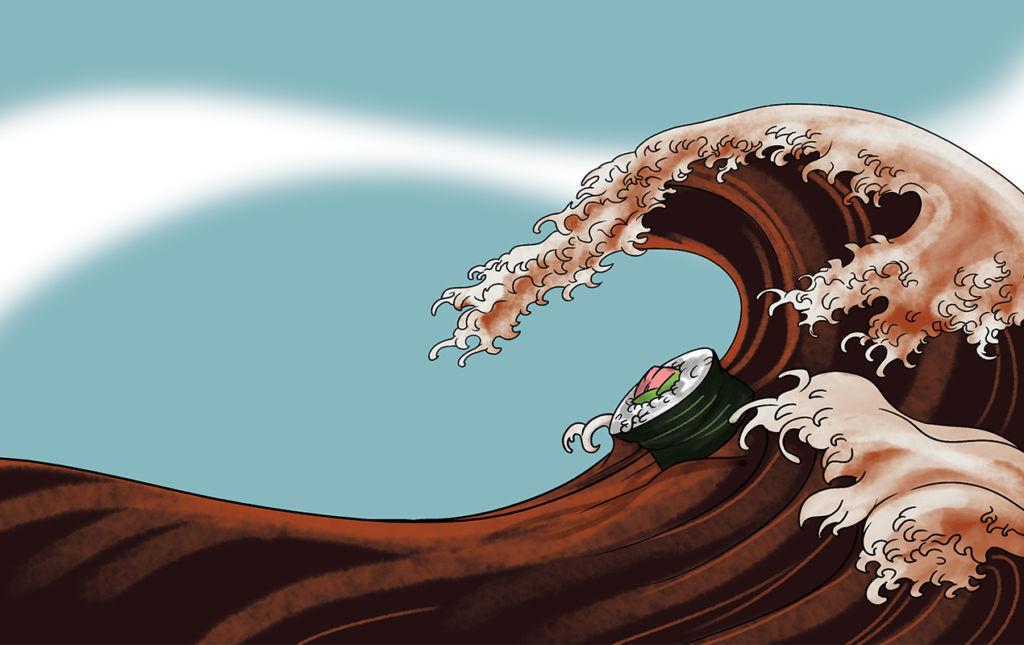Más allá del sushi - Reglas de etiqueta sushi - Sushi wave