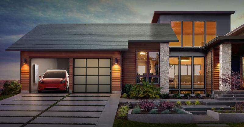 5 innovadoras tecnologías para el hogar que debes conocer - Tecnologías-para-el-hogar-tesla-solar