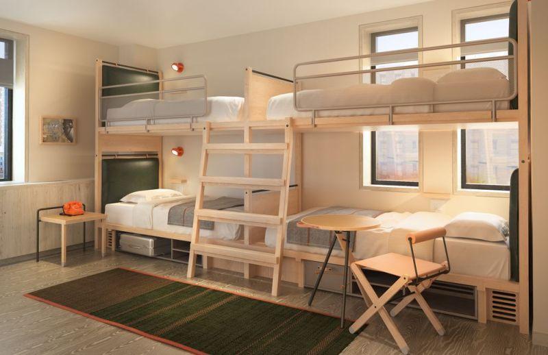 El nuevo hotel Moxy, una divertida alternativa para alojarte en Nueva York - nuevo-hotel-Moxy-7.-Cuarto-2