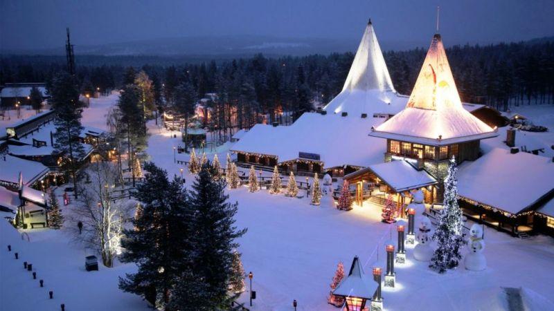 Los mejores destinos para viajar esta Navidad - 4.-Finlandia-Lugares-viajar-en-navidad