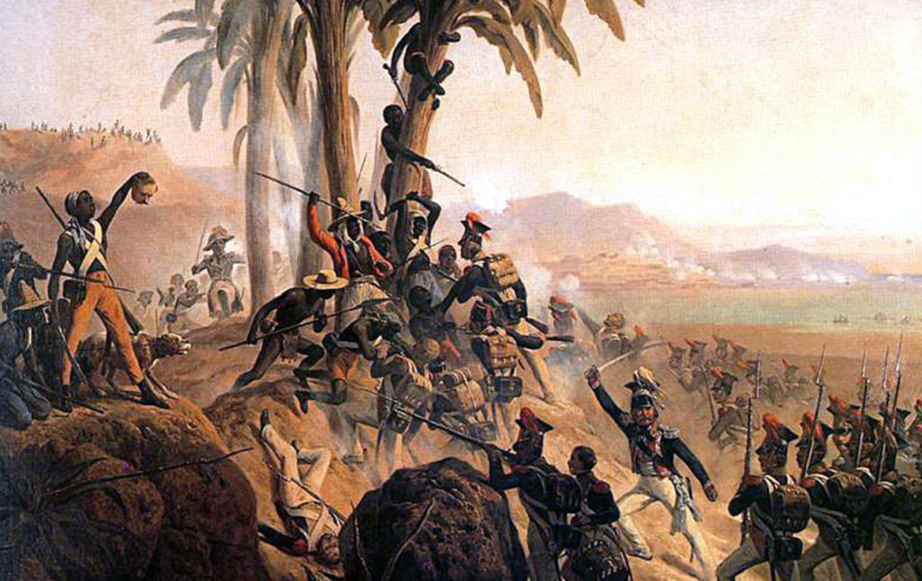 El reino negro de Henri Christophe en el horizonte de los muertos vivientes. - Battle for Palm Tree Hill portada