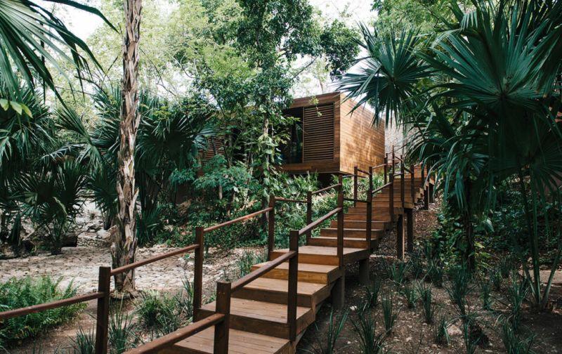 Hotel Chablé, la nueva joya en Yucatán. - Chablé-entrance