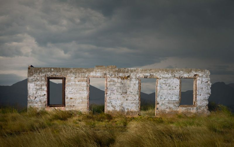 HOTphoto: Ed Freeman - Ed-Freeman-Abandoned-Construction-Rte.-180-Texas
