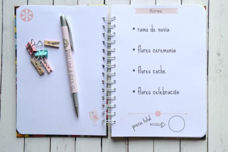 10 tips para planear tu boda - 6.-Agenda-novia-