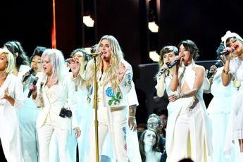 Los momentos más importantes de los premios Grammy 2018 - kesha-grammy-portada