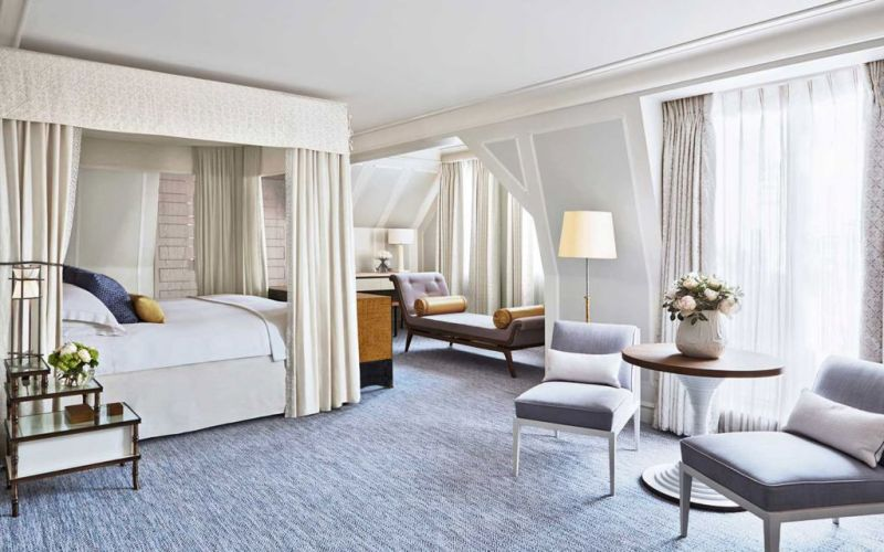 The Connaught, un hotel que refleja tradición inglesa. - 2.-Habitaciones-