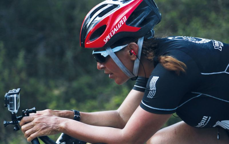 Norma Bastidas - bike
