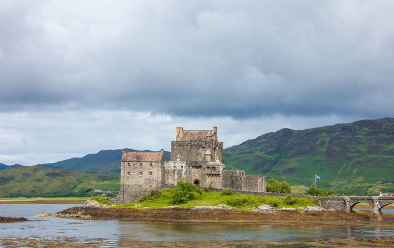 Isle of Skye - castle