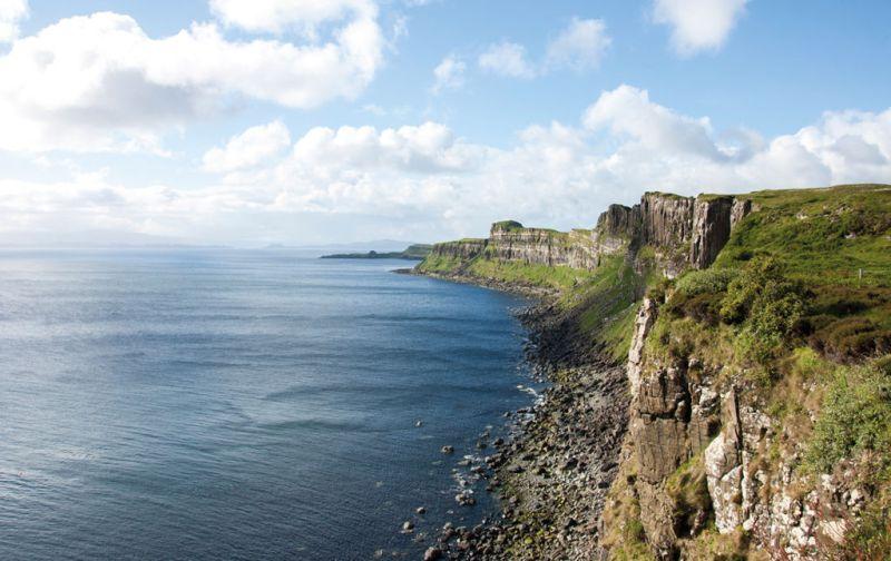 Isle of Skye - kilt-rock