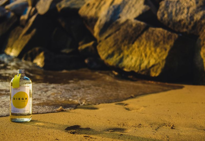 Ginebra Diega - drink_gin_diega_beach