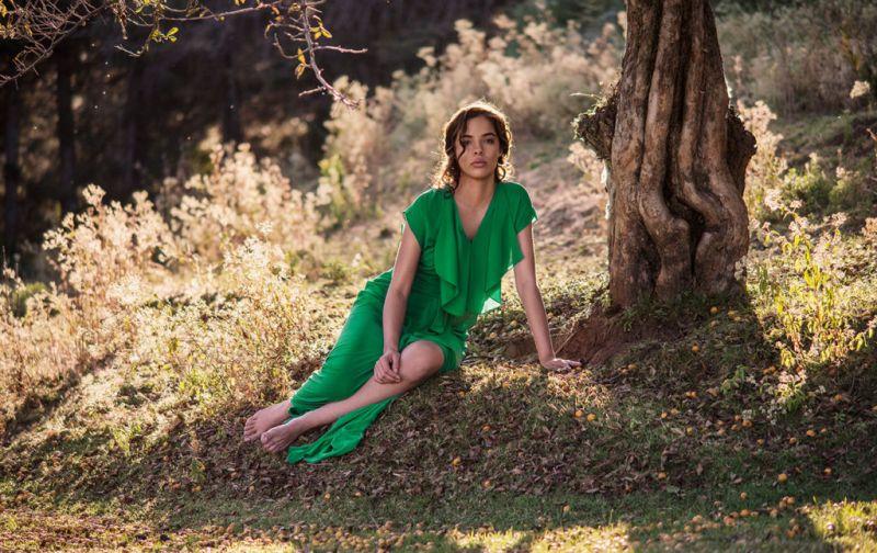 Atonement - green-dress