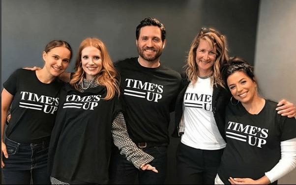 Time's Up, el movimiento que está rompiendo estereotipos de género. - timesup2