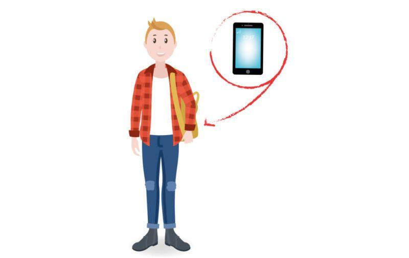 Tips para usar tu celular de forma sana - TIP-9