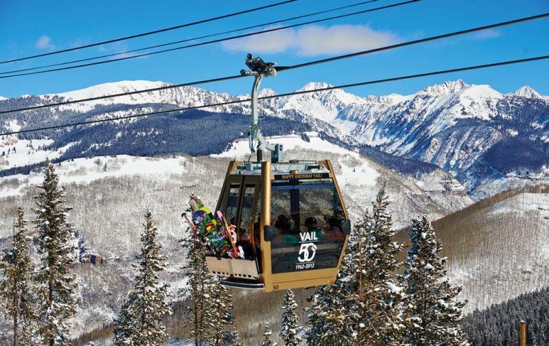Sol y esquí en Vail. Las mejores actividades para esta temporada. - VAIL-GONDOLA