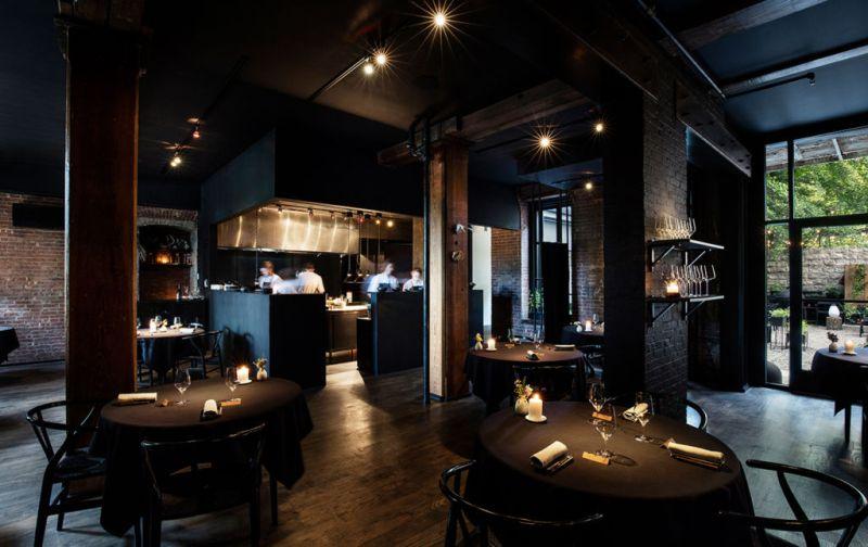 Aska; Suecia y Nueva York en reunión - dining-room