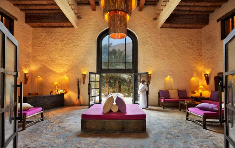 Six Senses Zighy Bay Resort. Lujo y relajación en el sureste de la península arábiga. - Sablah-main-lobby