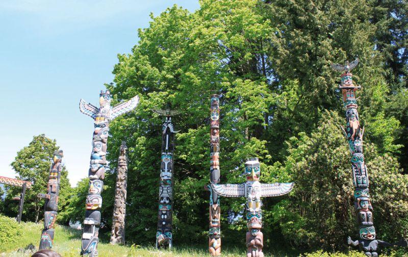 Vancouver: Urbanismo y naturaleza en perfecta proporción - totem