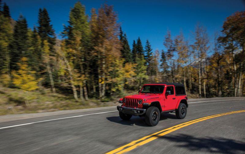 Jeep Wrangler: innovación y tecnología en un vehículo todo terreno. - JEEP-4