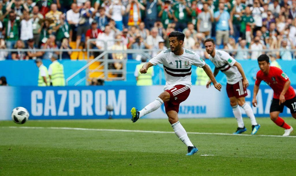 ¿Qué necesita México para pasar a octavos de final en el Mundial Rusia 2018? - Carlos Vela mete penal vs. Corea del Sur. ¿Qué necesita México para pasar a octavos de final en el Mundial de Rusia 2018_