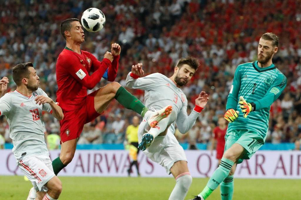 Los mejores goles de la primera jornada del Mundial Rusia 2018 - Los mejores goles de la primera jornada del Mundial Rusia 2018. Gol de Cristiano Ronaldo en Portugal contra España