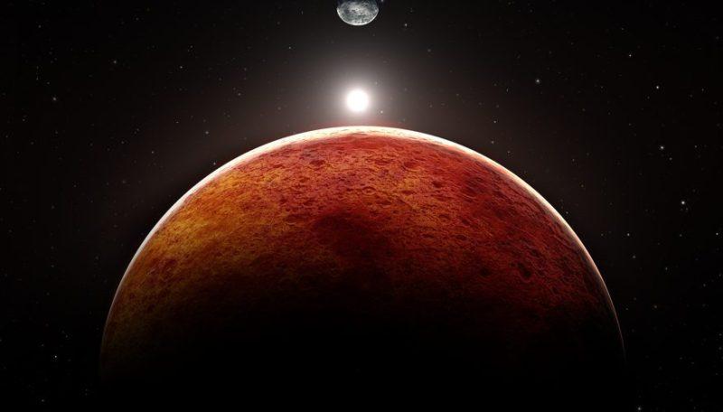La NASA encuentra dunas azules en Marte - marte