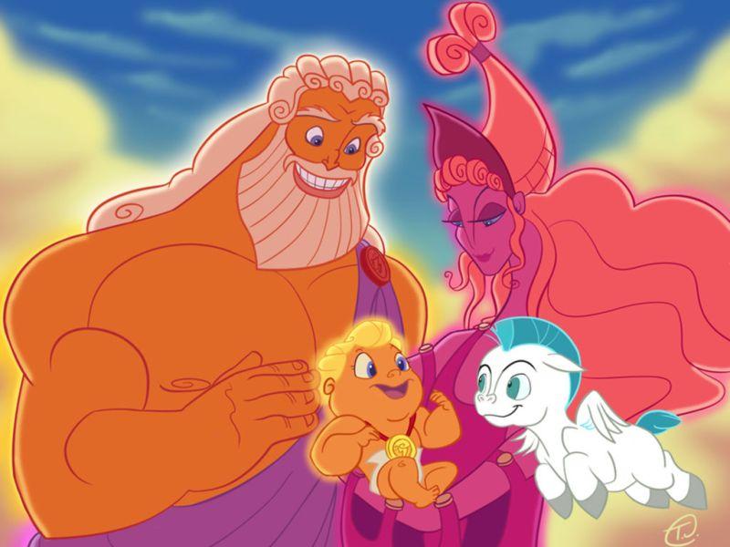 11 fun facts de las películas de Disney - 3-hercules-es-tio-de-ariel-disney