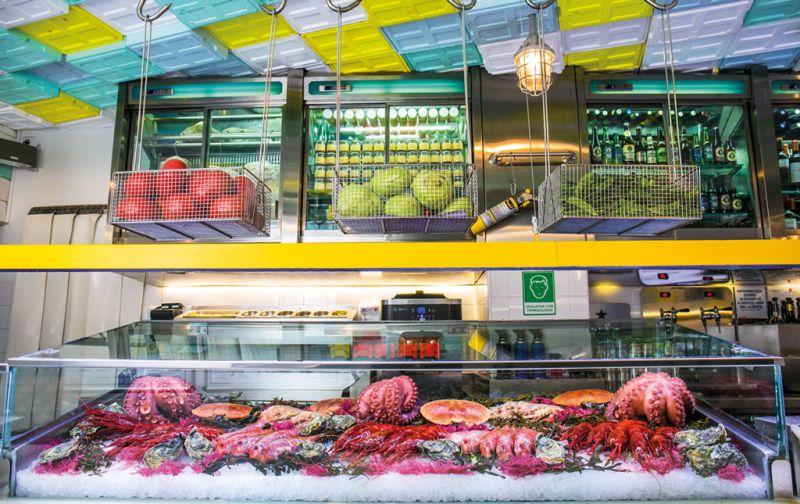 Sala de Despiece, la barra de tapeo más codiciada en Madrid. - mercado-sala-de-despiece