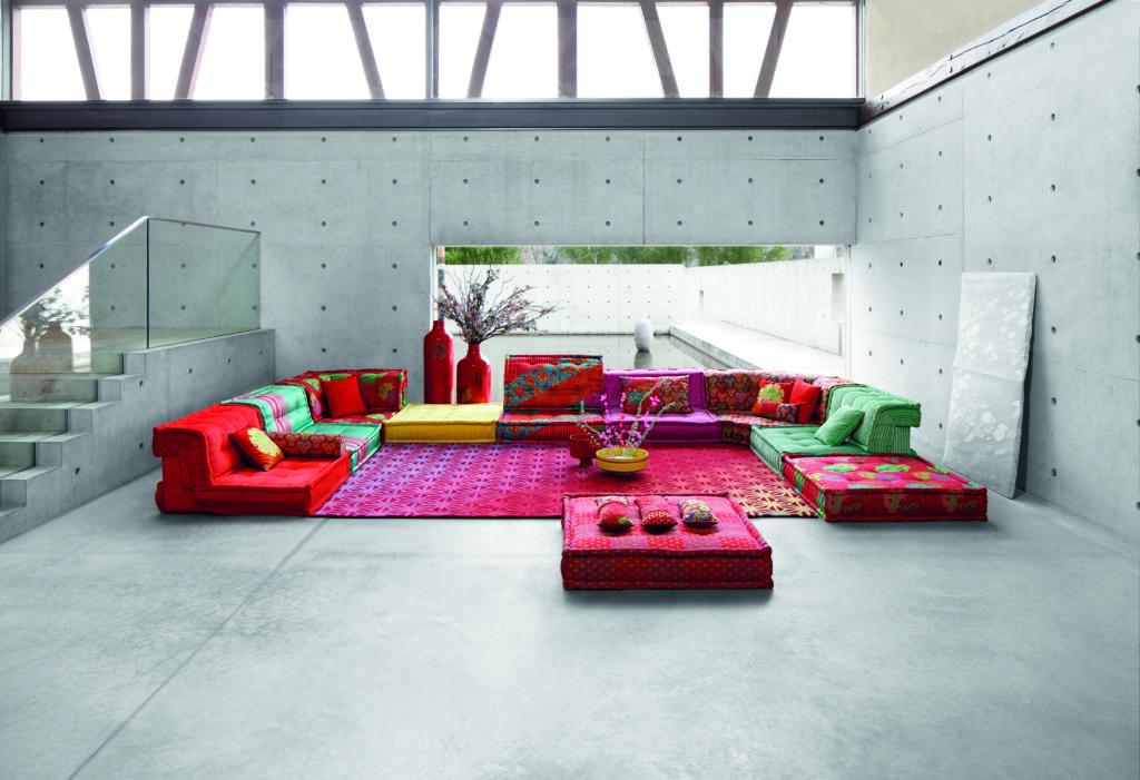 Mah Jong: un sofá en constante reinvención - Roche Bobois y su sofá Mah Jong...