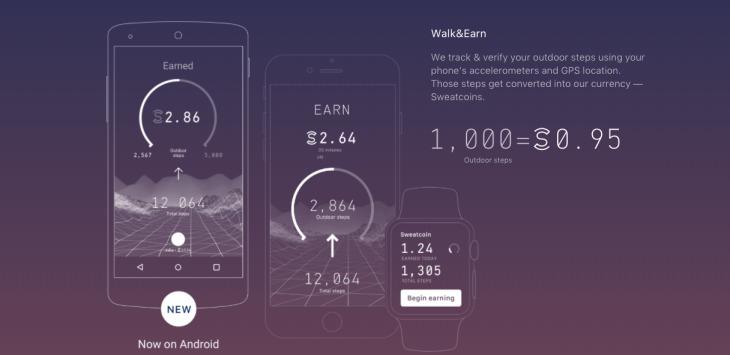 Las mejores apps de ejercicio - sweatcoin