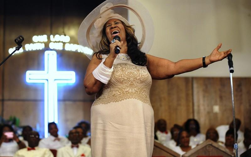10 cosas que no sabías sobre Aretha Franklin - arethafranklin_iglesia