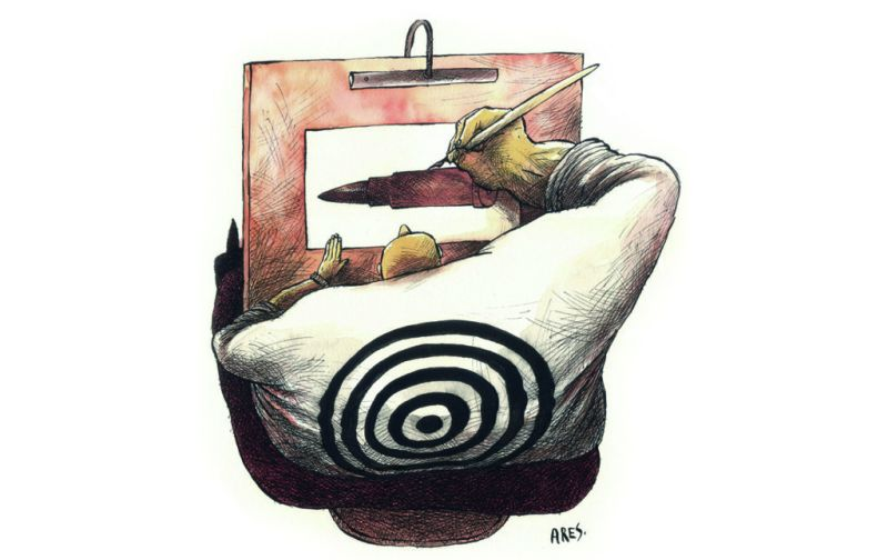 Línea de fuego - linea-de-fuego-caricatura-por-ares-2