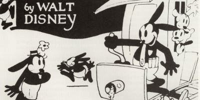 10 datos interesantes sobre Walt Disney - oswald-the-lucky-rabbit