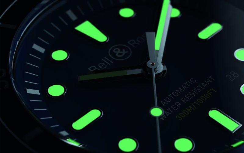 Diver blue y Diver bronze - reloj-para-hombre-buceo-bell-_-ross-diver-blue-fosforescente