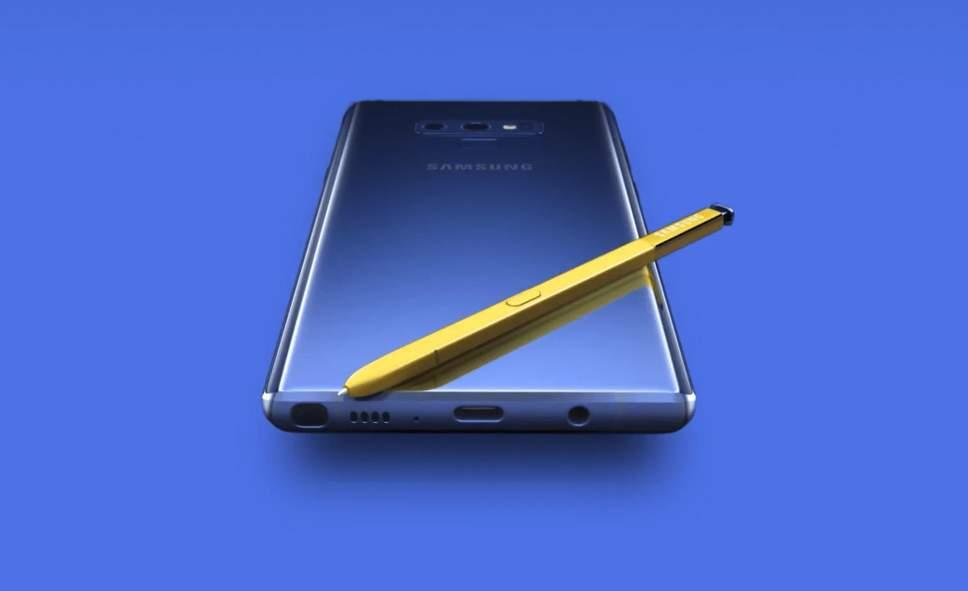 Samsung lanza al mercado su nuevo Galaxy Note 9 - samsung portada