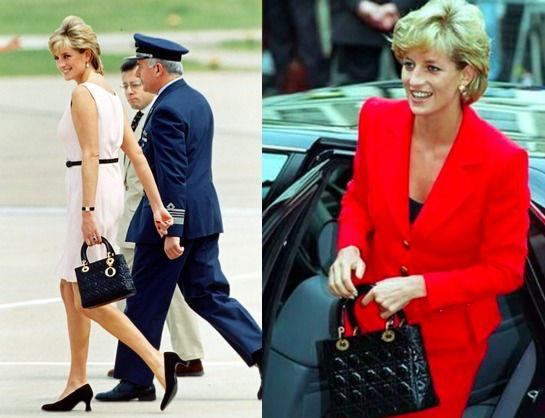 5 bolsas que se han convertido en íconos de la moda - 5-bolsas-que-se-han-convertido-en-iconos-de-la-moda-lady-dior-de-la-princesa-diana