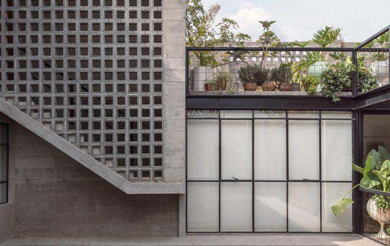 BAAQ' - arquitectura-casa-moderna-exterior-fachada