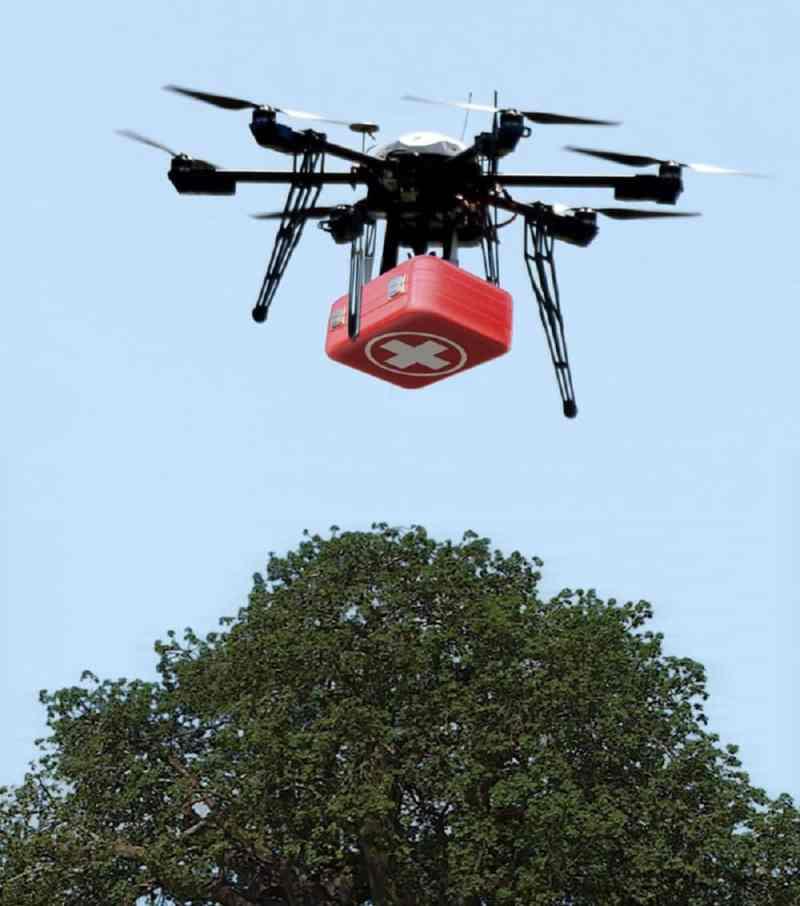 Drones que están cambiando el mundo - drones-medicos
