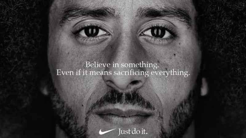 """Nike elige a Kaepernick como imagen de la campaña """"Just Do It"""" en su 30 aniversario - nike-elige-a-colin-karpernick-como-cara-de-su-nueva-campancc83a-just-do-it"""