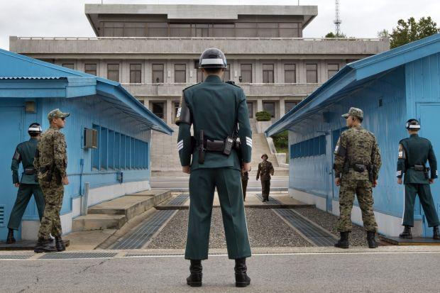 Corea del Norte y Corea del Sur declaran la paz - pazcorea_frontera