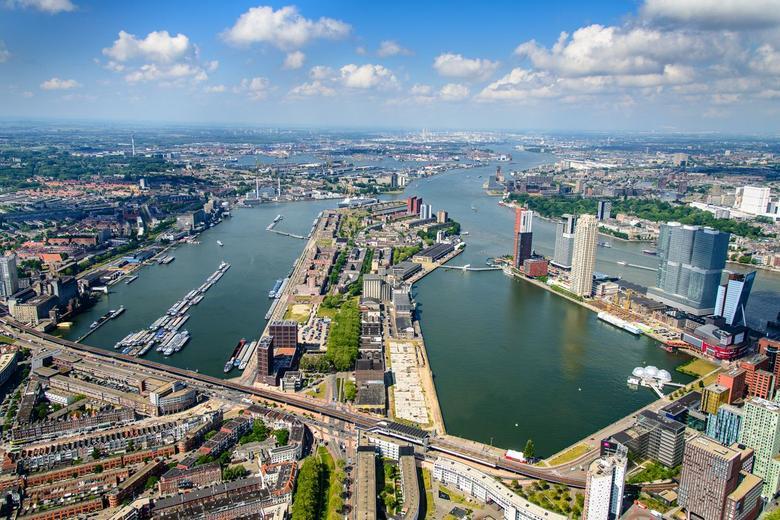 Rotterdam's Floating Park, el primer parque hecho de plástico reciclado - rotterdam-floating-park-2