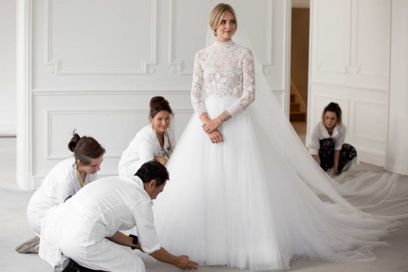 Todos los detalles de la boda de Chiara Ferragni y Fedez: The Ferragnez - todos-los-detalles-de-la-boda-de-chiara-ferragni-y-fedez-the-ferragnez-chiara-ferragni-dior-wedding-dress