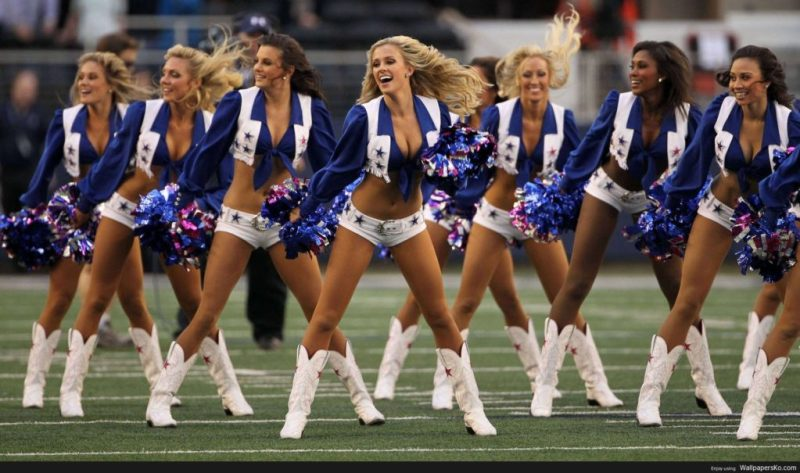 11 datos curiosos sobre la NFL - 8-nfl-cheerleaders