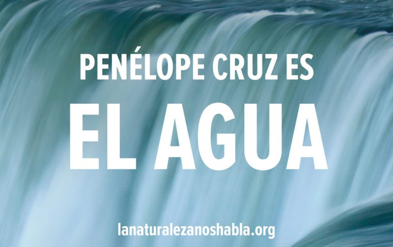 Conservation International, a favor de la naturaleza - agua-voz-conservacion-natural-pelicula