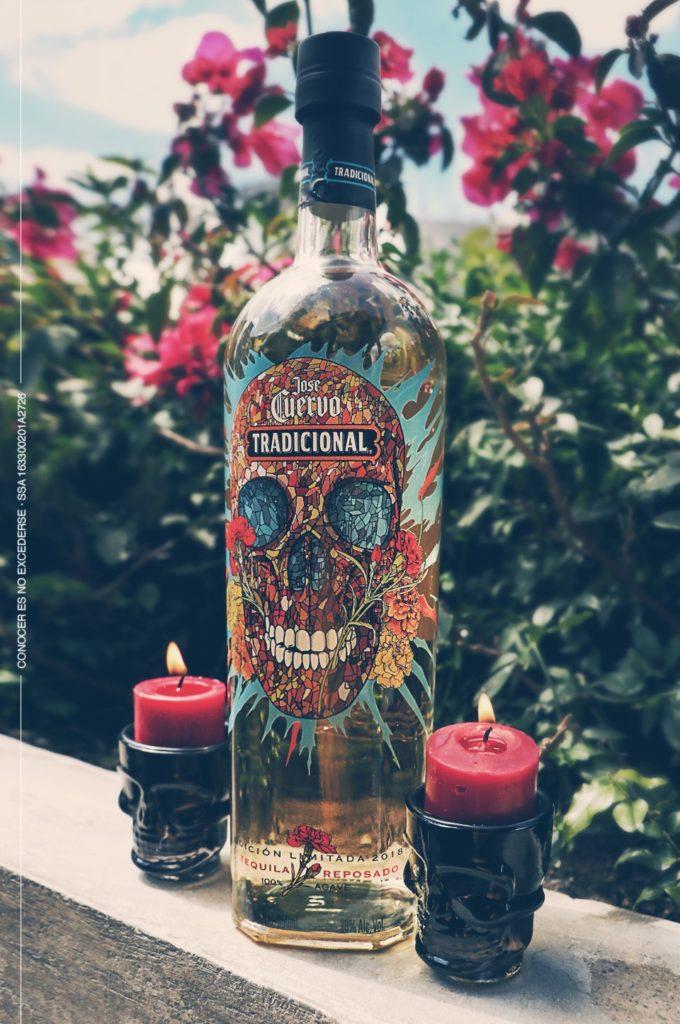 Calavera, la edición limitada de Tequila Cuervo Tradicional - botella-tequila-cuervo-tradicional