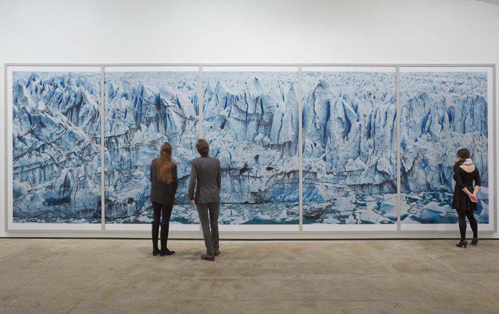 Frank Thiel. el fotógrafo de Berlín - cuadro glaciar foto frank thiel