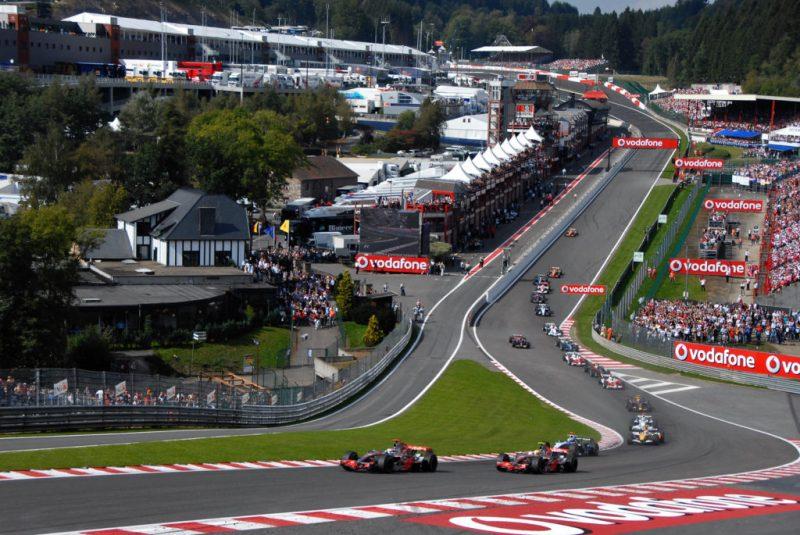Los circuitos más difíciles en la historia de la F1 - f1-spa-francochamps