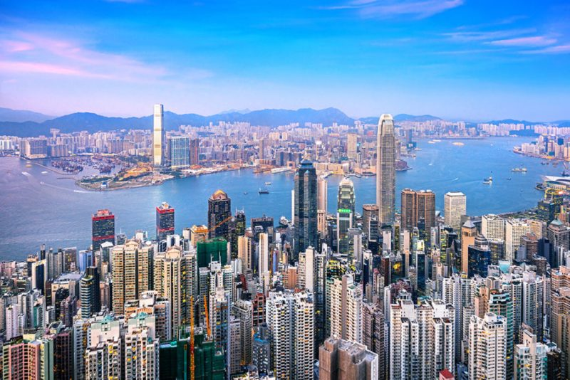 Guía para visitar Hong Kong - hong-kong-skyline