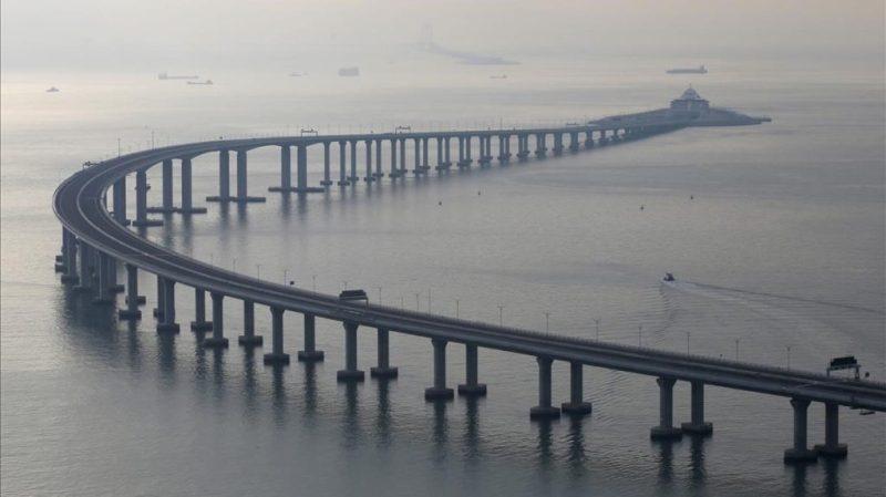China inaugura el puente marítimo más largo del mundo - puentechina_puente