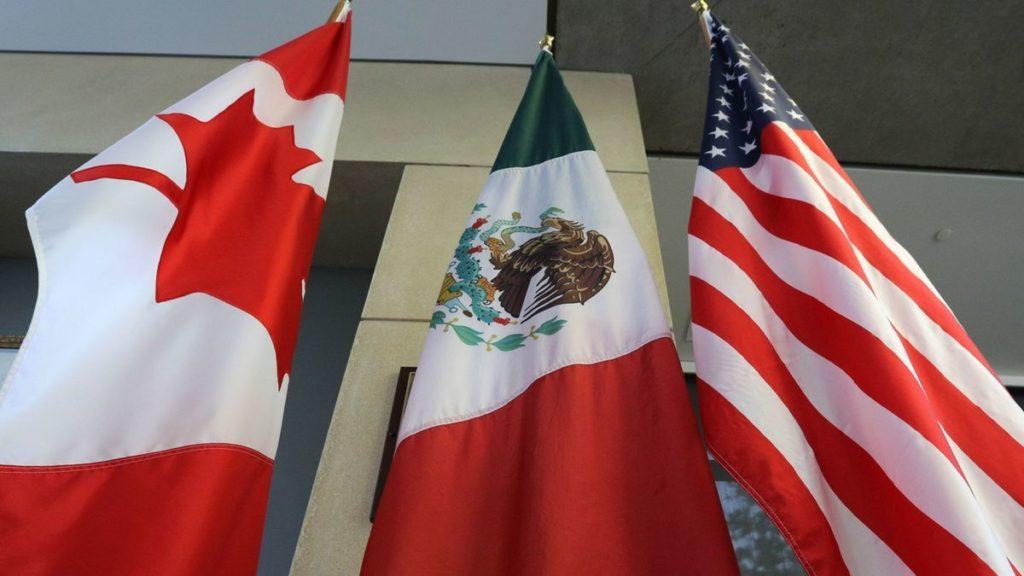 USMCA, el nuevo acuerdo comercial que reemplazará al TLCAN - USMCA banderas de Candá, México y Estados Unidos PORTADA
