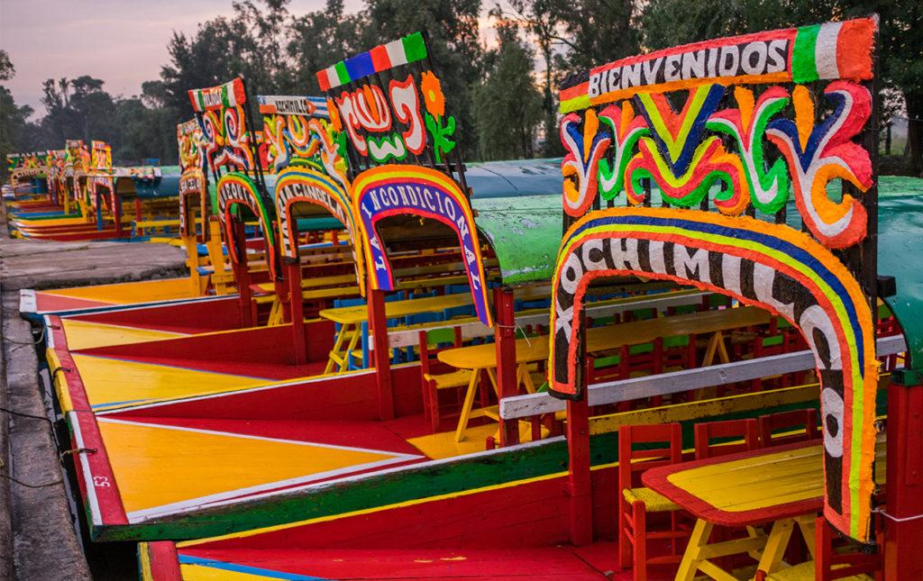 Una receta con ingredientes de Xochimilco - xochimilco trajineras mexico cultura colores